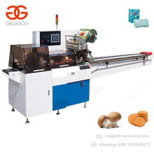 Automatic Pillow Type Chocolate Bar Packaging Horizontal Lollipop Wrapping Equipment Price Instant Noodles Packing Machine