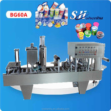 China original hot manufacturers supplier palm acid oil cups filling and sealing machine CE standard 1 years warrantee
