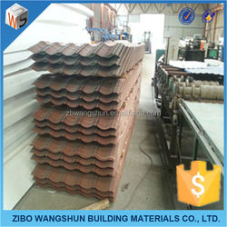 2015 All types of PPGI corrugated zinc roofing sheet waterproof cheap IBR metal roof sheet