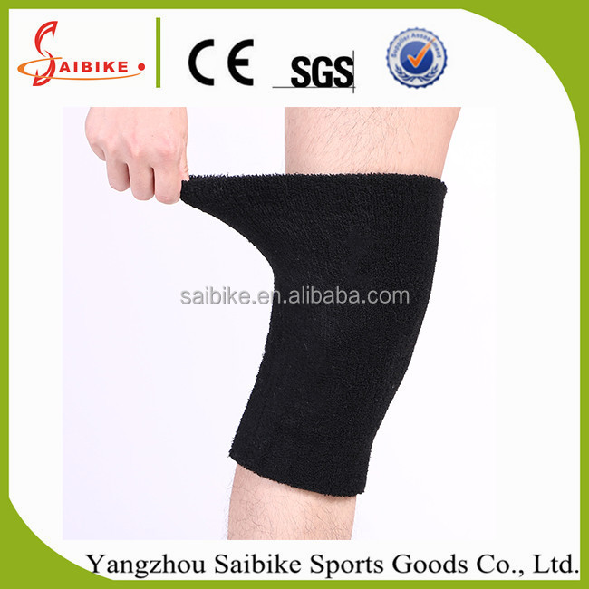 Color Towel Warmer Thickened Duble Layer Dance Knee Protector Kneepad Basketball Sport knee Legging