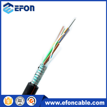 GYTS 144 core steel tape armored waterproof fiber optic telecom communication cable