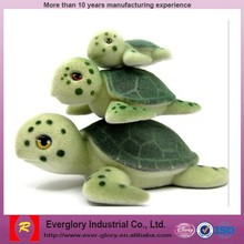 mini animal figurines plastic, flocked figures toys