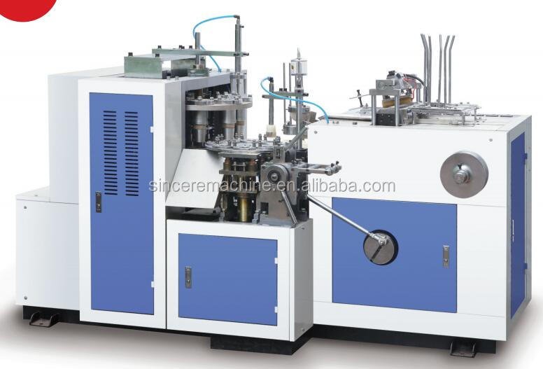 High efficient automatic paper cup forming machine