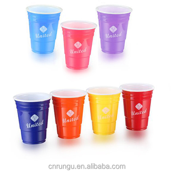 Reusable Plastic Res Solo Cups, Red Party Cup