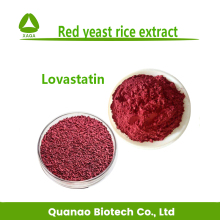 Natural Red yeast rice extract powder Lovastatin 0.8%,1%,1.5% free samples