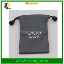 promotional fashion fabric drawstring gift bag with custom logo