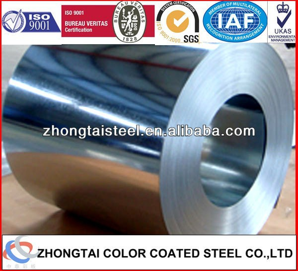 Cold Rolled Technique and AISI,ASTM,BS,DIN,GB,JIS Standard 925mm galvanized steel coil