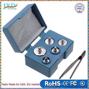 Precision Calibration Weight Digital Scale Set Kit with Tweezers For Weight Scale Tools