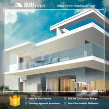 Titan Luxury 2 Floors Architectural House Villa Plan
