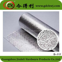kitchen cabinet used aluminium foil in large roll
