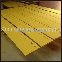 loder cutting edges for loader backhoe parts
