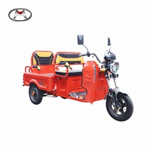 MINGHONG 800W 2018 new design two seats open type adult mini passenger & cargo dual purpose tricycle with CCC certificate