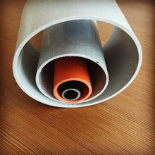 China factory supply fiberglass round tube