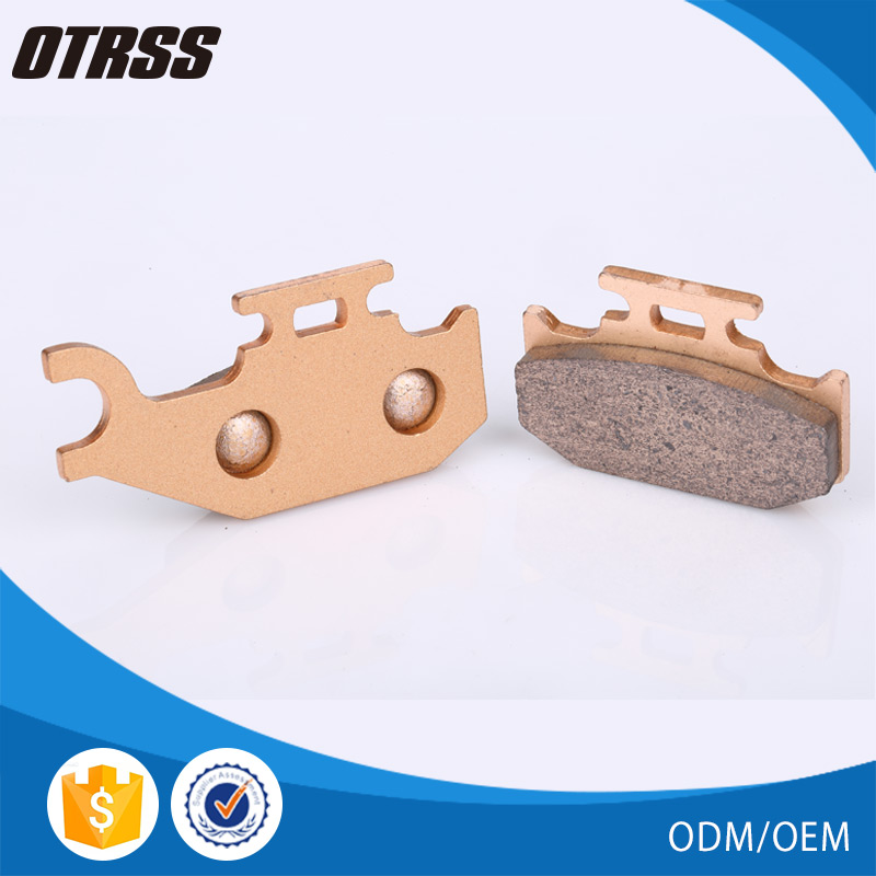 New China products china DS 650 ATV sintered brake pad for BRP