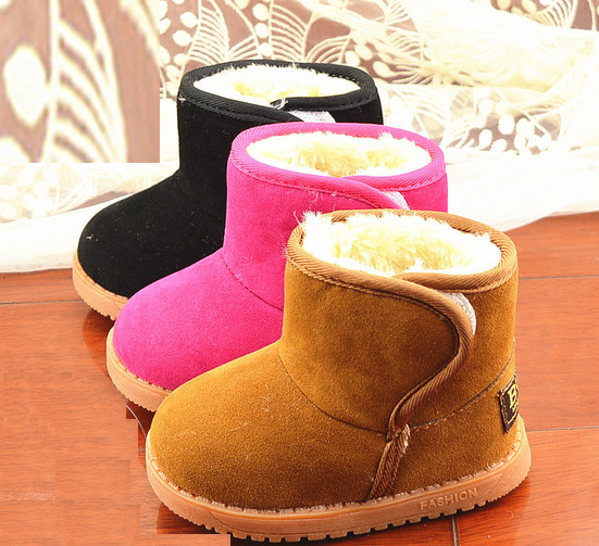 Foreign trade children thickening snow boots winter shoes classic shoes for kids