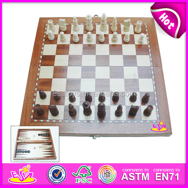 2015 Best Seller Wooden Game Chess Toy For Kids