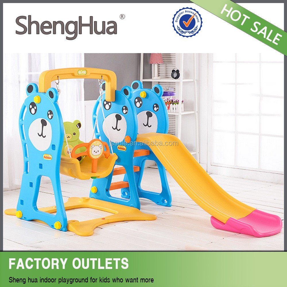 Online shop china baby swing kids swing and slide with SGS TUV certificate