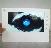 10 inch tft lcd motion sensor advertising player