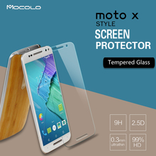 Mocolo 0.33mm Tempered Glass Screen Protector for Motorola Moto X Style Moto X+2 XT1570 Moto X
