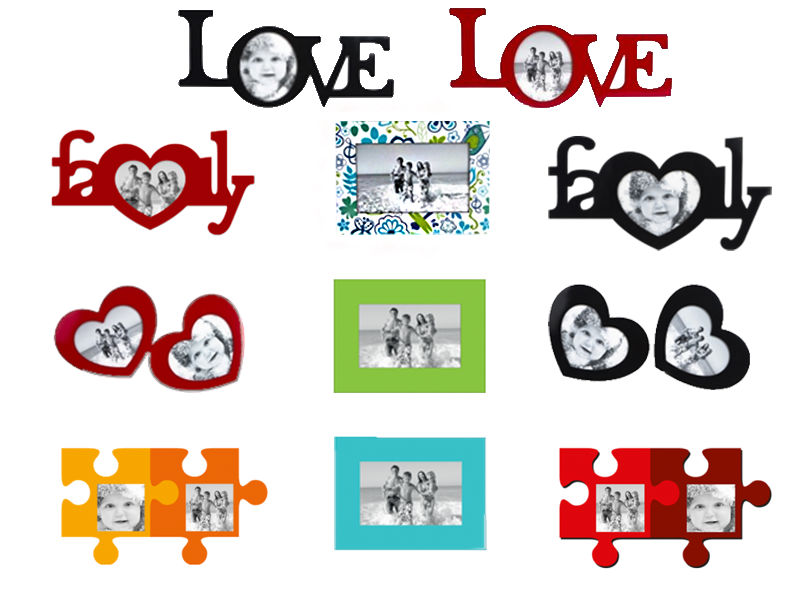 Fridge photo frame magnets 4mm