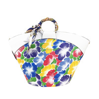 Flower design handbags for lady