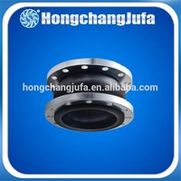 high temperature expansion joints concrete/flexible flange rubber joint