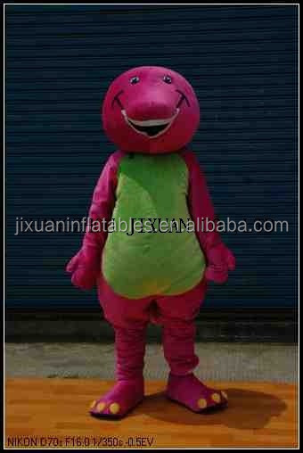 barney costume for adults barney the dinosaur costume mascot