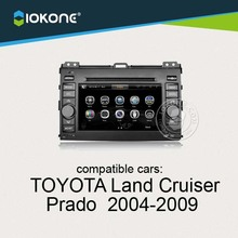 China factory provide Central multimidia For Toyota Land Cruiser 2004 to 2009