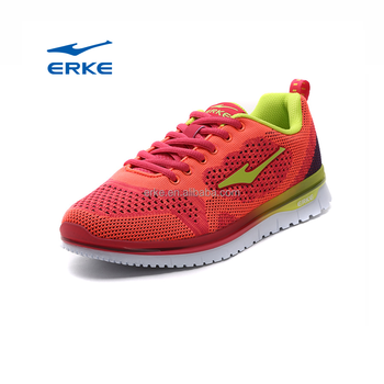2017 summer new red blue ERKE brand wholesale sports running shoes for womens