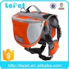 wholesale low price adjustable foldable durable dog backpack outdoor