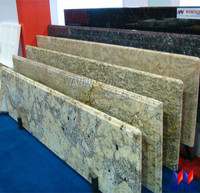 2016 double bullnose prefab granite countertop