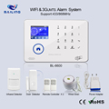 2018 popular Gsm+wifi/3g+wifi +ip camera home wireless alarm system home shop office usage alarm system