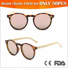 2016 fully Handmade Wooden Sunglasses Fashionable bamboo sunglasses