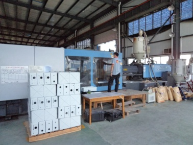 Injection Molding (Plastic Equipment Case)