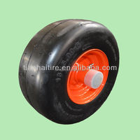 13 x5.00-6 rubber wheel with smooth tread for zero turn radius commercial mowers