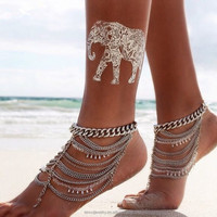 Fashion Coin Anklets Bracelets For Women
