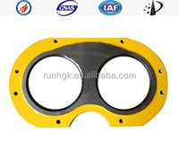 concrete pump parts cutting ring and Wear Plate