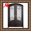 Iron main entrance doors grill