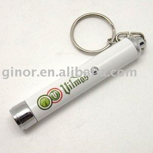 Logo projector keychain/projection torch/projector keychain