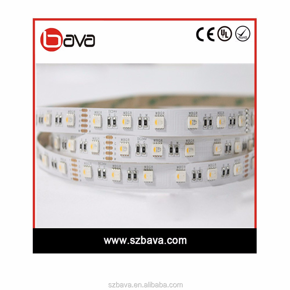 Color changing remote controlling 5050smd 24v led tape light rgb