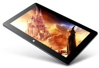 Original 10.6 Inch Dual OS Tablet Win8.1 Android4.4 P+G Screen Intel Z3735F Quad Core Tablet PC Cube