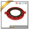 China factory foundry FM UL approved grooved pipe fitting grooved flange adaptor