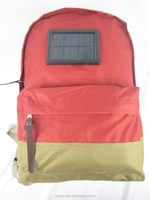 High power solar power backpack
