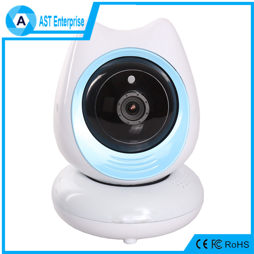 360 Degree1080P Full HD Baby Monitor P2P Cartoon Robot P2P Wifi IP Camera