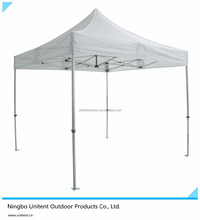 4x4 Pop Up Fold Gazebo Trade Show Tent Canopy Aluminum Frame Square Tube PVC Coated