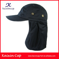 baseball cap with ear flaps