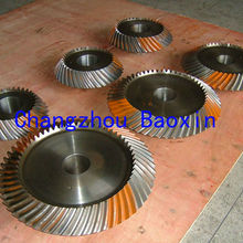hypoid gear for gearbox