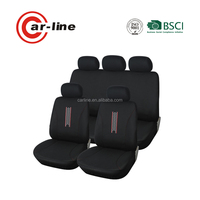 6PCS PRIUS RACING CAR SEAT COVER WITH AIR BAG COMPATIBLE