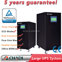 Online Low Frequency Single / Three PHASE UPS 50 KVA 50kva