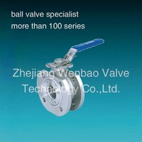 flange Ball Valve italy type(Iso 5211 mounting pad ball valve)